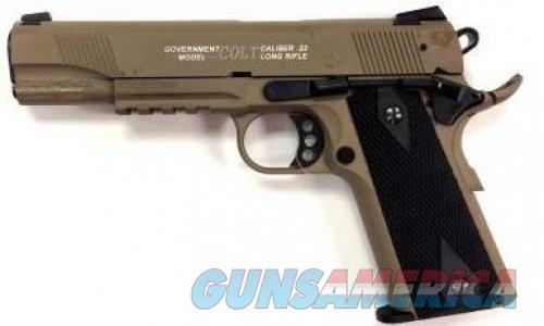 Walther Colt 1911A1 Rail 22LR 12+1 FDE  Guns > Pistols > L Misc Pistols