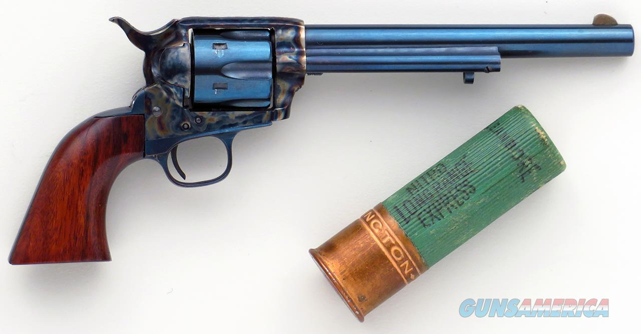 Uberti miniature Colt Single Action Army, blue and color case, six inches long  Non-Guns > Curios