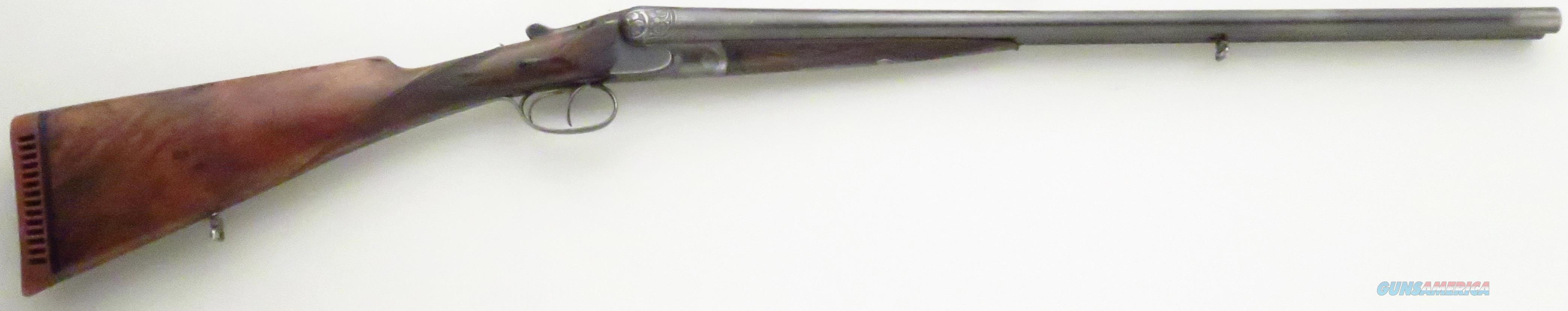 Schmidt & Habermann engraved scalloped boxlock 12 gauge  Guns > Shotguns > Double Shotguns (Misc.)  > German