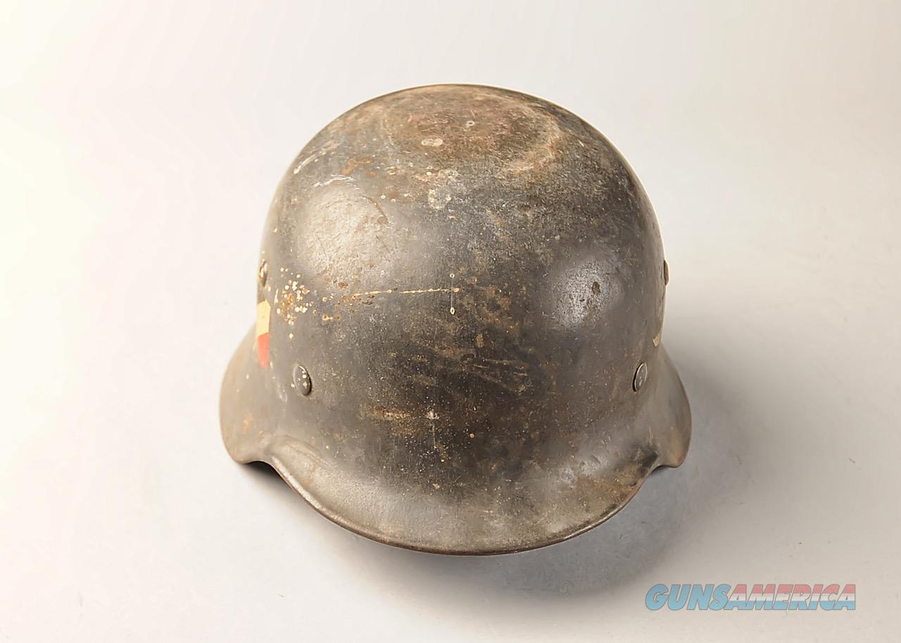 German WWII M35 Luftwaffe helmet  Non-Guns > Military > Clothing/Camo