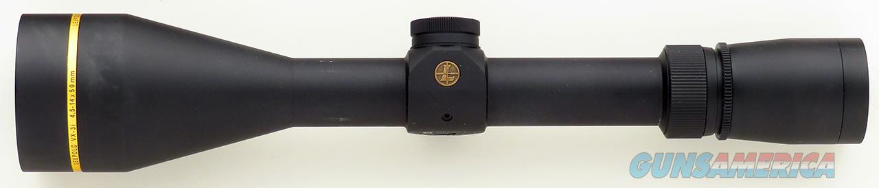 Leupold VX-3i- 4.5-14x50mm, Duplex, 1-inch, matte, 99%  Non-Guns > Scopes/Mounts/Rings & Optics > Rifle Scopes > Variable Focal Length