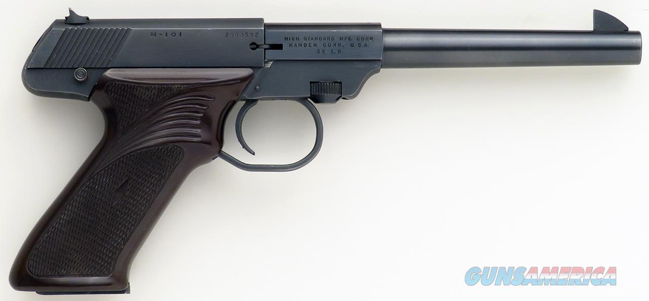 High Standard Dura-matic M-101 .22 LR, 6.5-inch, 2000592  Guns > Pistols > High Standard Pistols