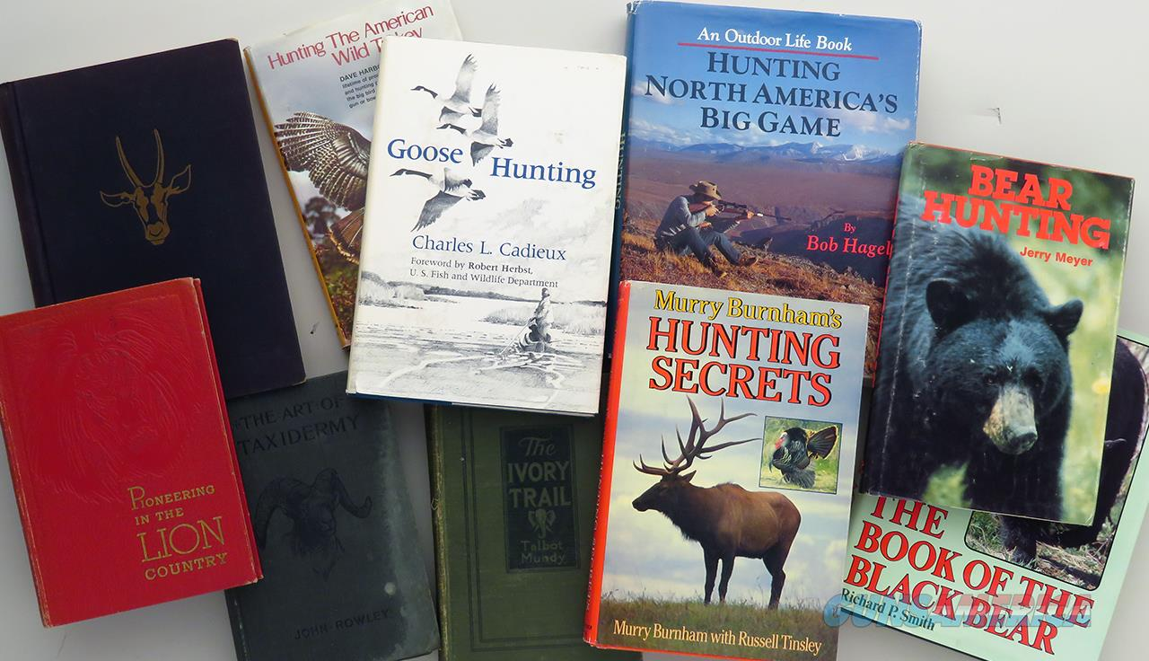 Ten hunting titles, Ruark, Hagel, Burnham and Harbour  Non-Guns > Books & Magazines