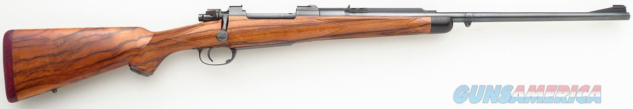 Griffin & Howe .375 H&H, magnum Mauser, square bridge, quarter rib, drop box, English walnut  Guns > Rifles > Custom Rifles > Bolt Action