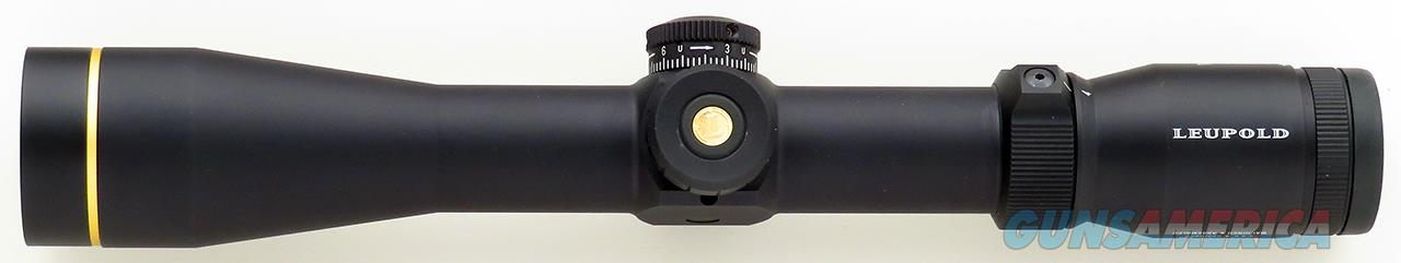 Leupold VX-R 4-12x40, FireDot Duplex illuminated reticle, CDS, new condition  Non-Guns > Scopes/Mounts/Rings & Optics > Rifle Scopes > Variable Focal Length