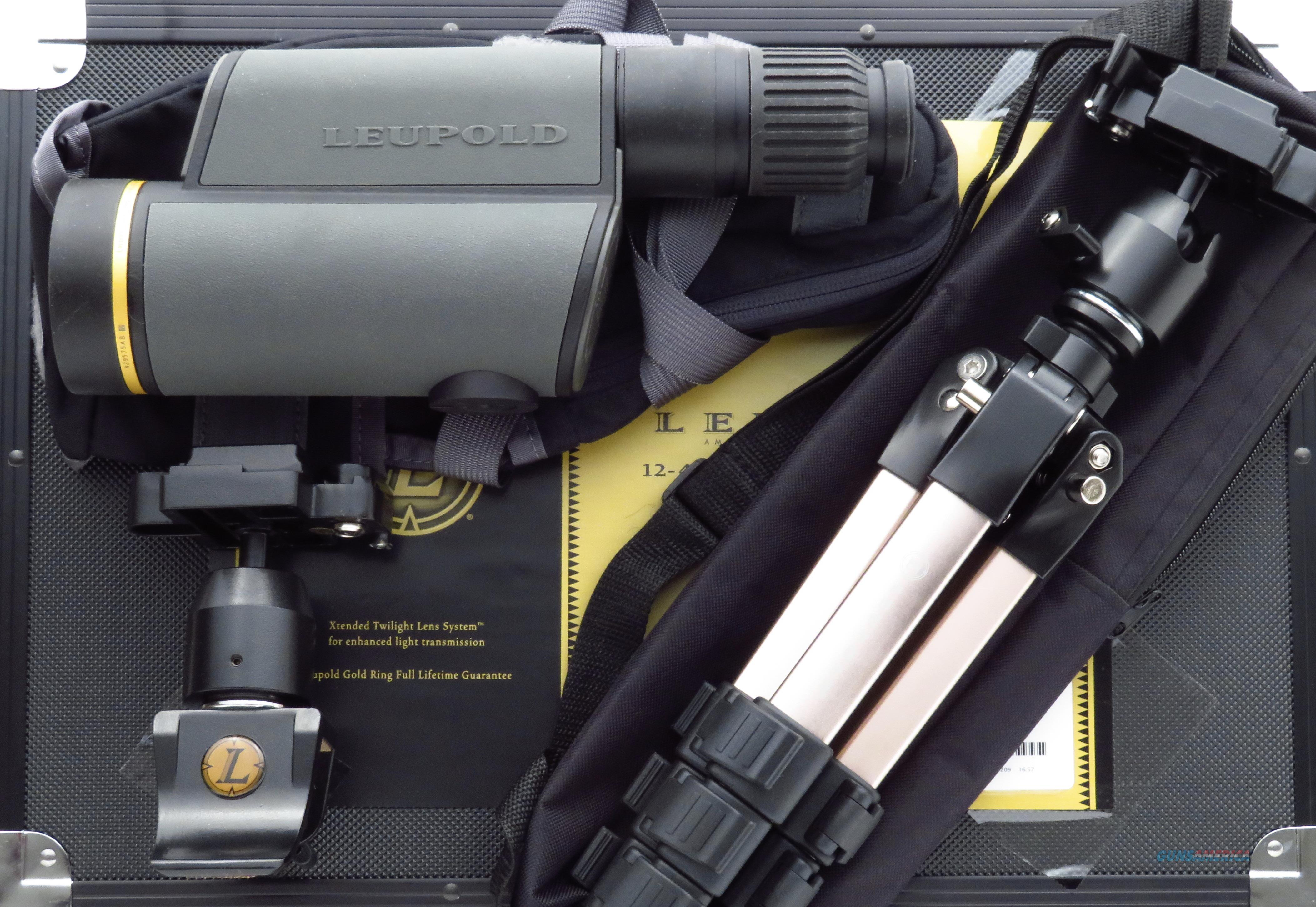 Leupold Golden Ring 12-40x60mm HD Spotting Scope Kit, Shadow Gray, 99%   Non-Guns > Scopes/Mounts/Rings & Optics > Non-Scope Optics > Other