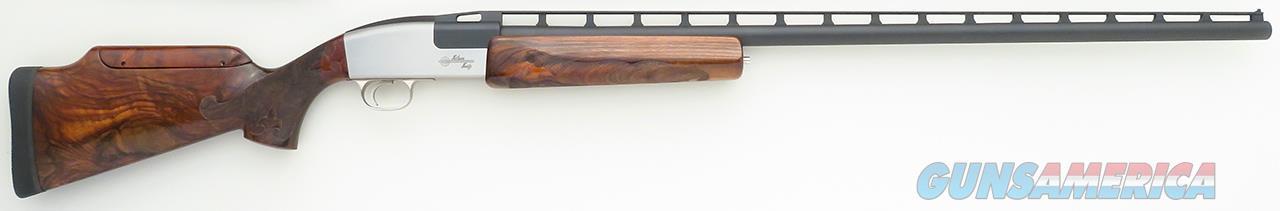 Silver Seitz single barrel trap 12 gauge, 35-inch F, serial 80, spectacular wood, adjustable comb, Americase, 99 percent, layaway  Guns > Shotguns > S Misc Shotguns