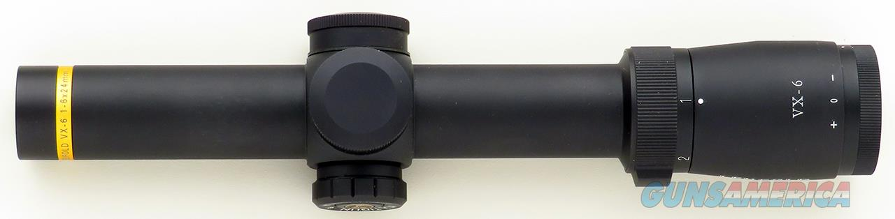 Leupold VX-6 1-6x24mm, illuminated CMR^2 Multi-Gun CDS reticle, new condition  Non-Guns > Scopes/Mounts/Rings & Optics > Rifle Scopes > Variable Focal Length