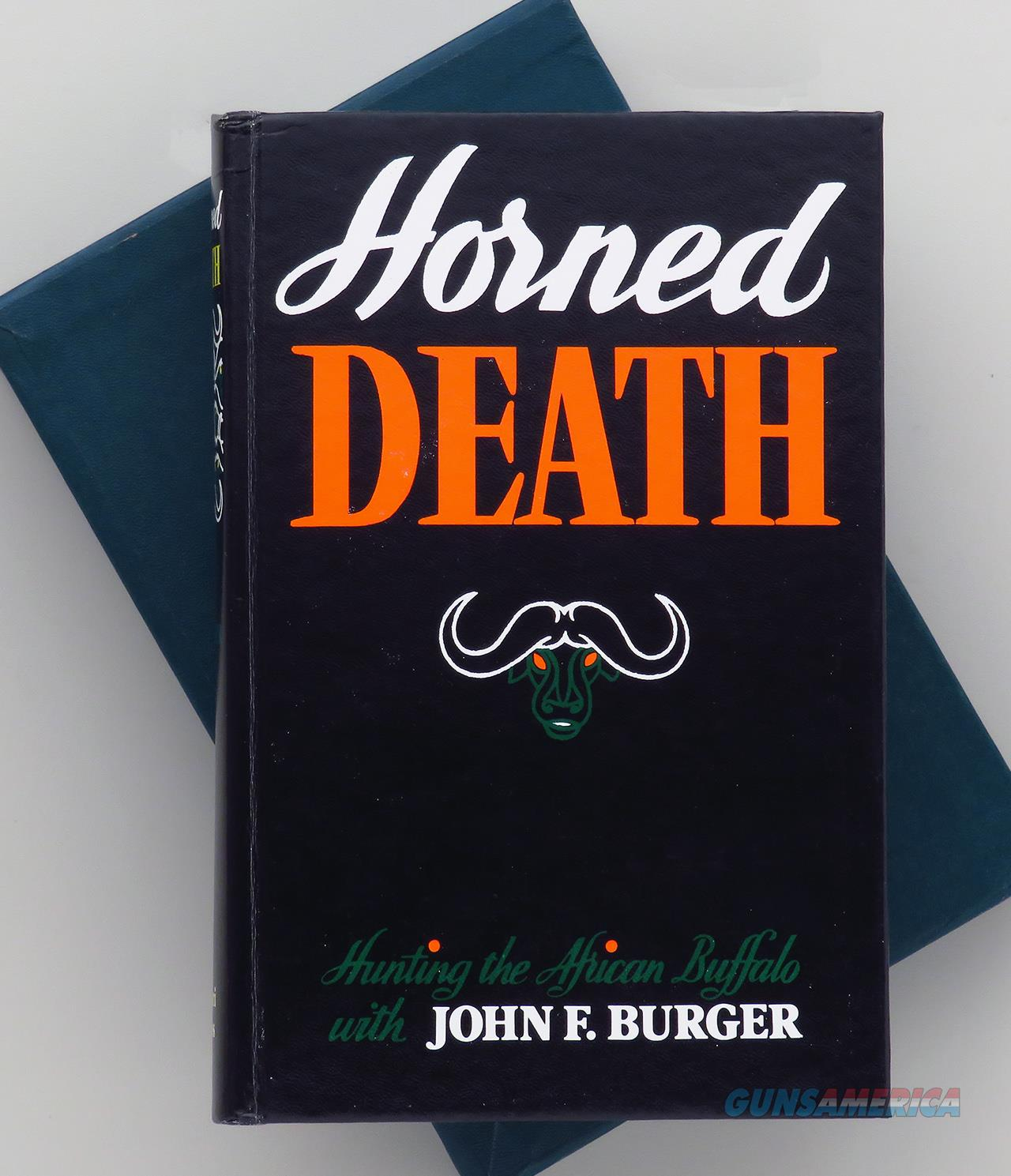 Horned Death by John Burger, limited edition with slip  Non-Guns > Books & Magazines