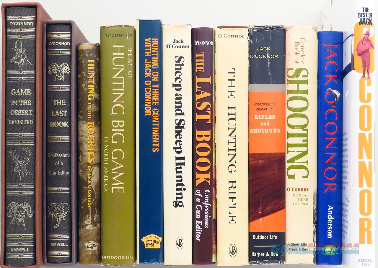 Jack O'Connor books, lot of 12, Revisited, Sheep Hunting, Last Book  Non-Guns > Books & Magazines
