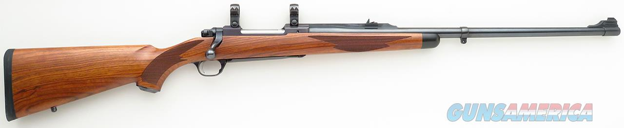 Ruger Model 77 Mark II .300 Winchester Magnum, quarter rib express, rosewood, English walnut, barrel band, steel bottom metal  Guns > Rifles > Ruger Rifles > Model 77