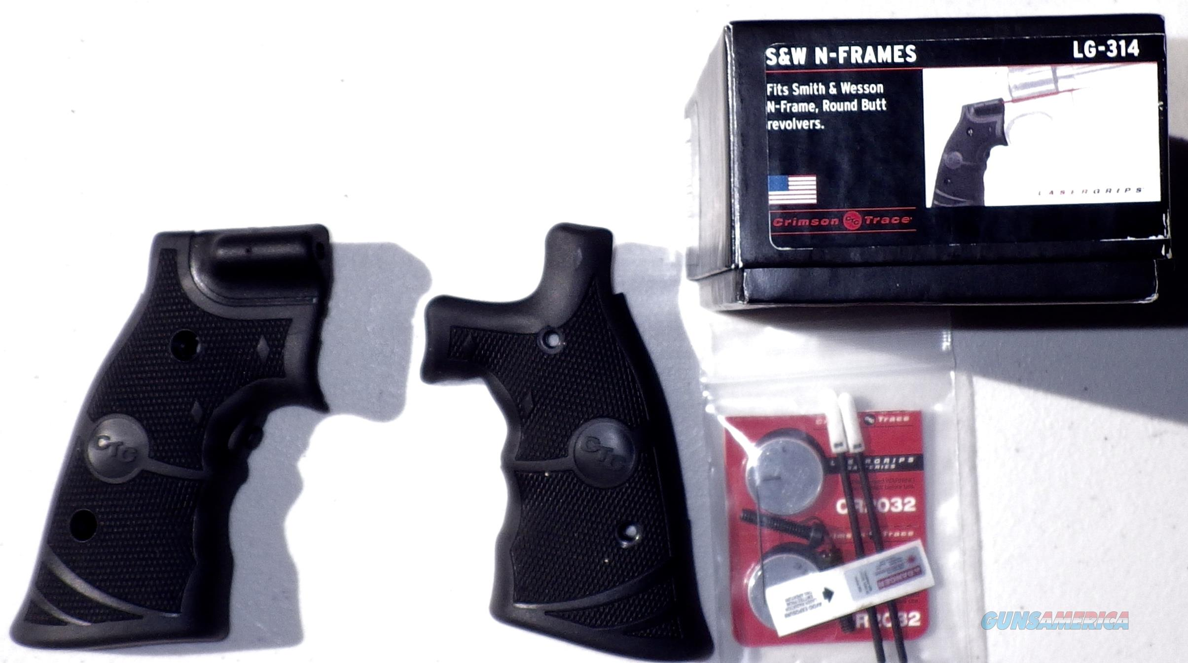 Crimson Trace Lasergrips for Smith & Wesson N-frame round butt, new in box  Non-Guns > Gunstocks, Grips & Wood