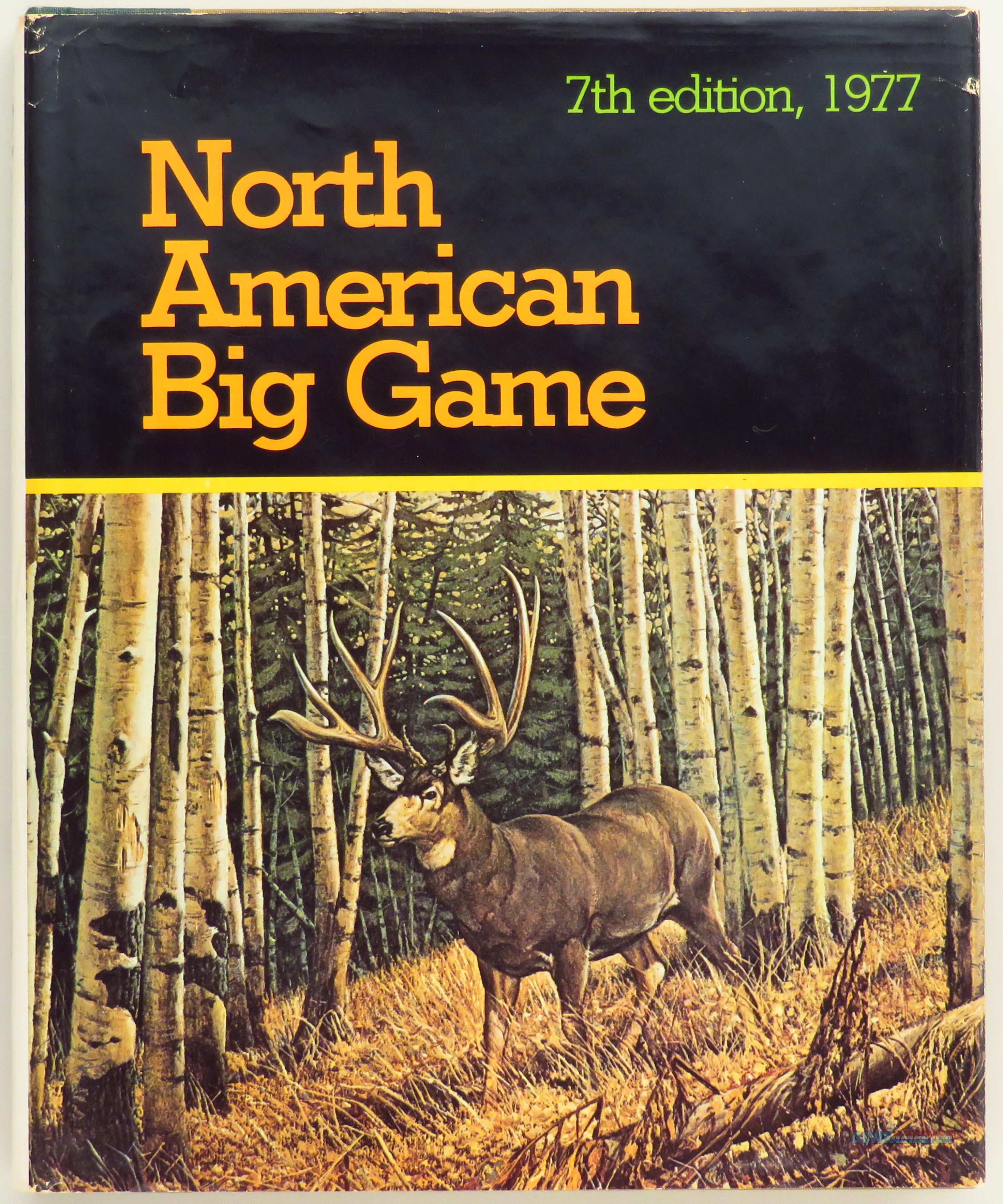 Records of North American Big Game, 1977, Boone and Crockett Club  Non-Guns > Books & Magazines