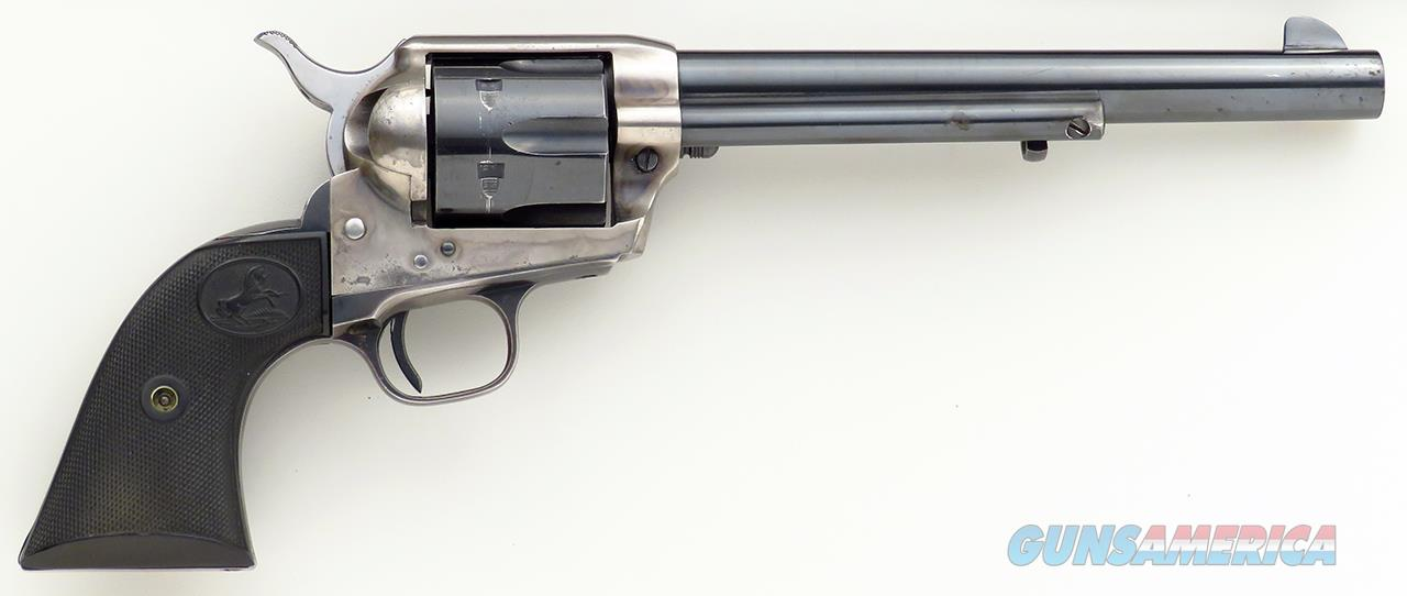 Colt SAA .45 early Gen. 2, 1956, 7.5-inch, superb tuning  Guns > Pistols > Colt Single Action Revolvers - 2nd Gen.