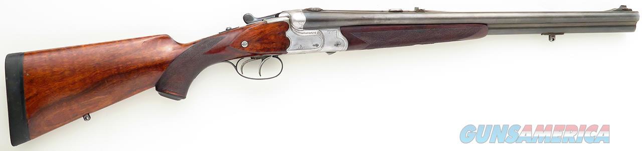 Greifelt double rifle drilling or Bock drilling, .30-40 Krag / 16 gauge, 19-inch barrels  Guns > Rifles > G Misc Rifles