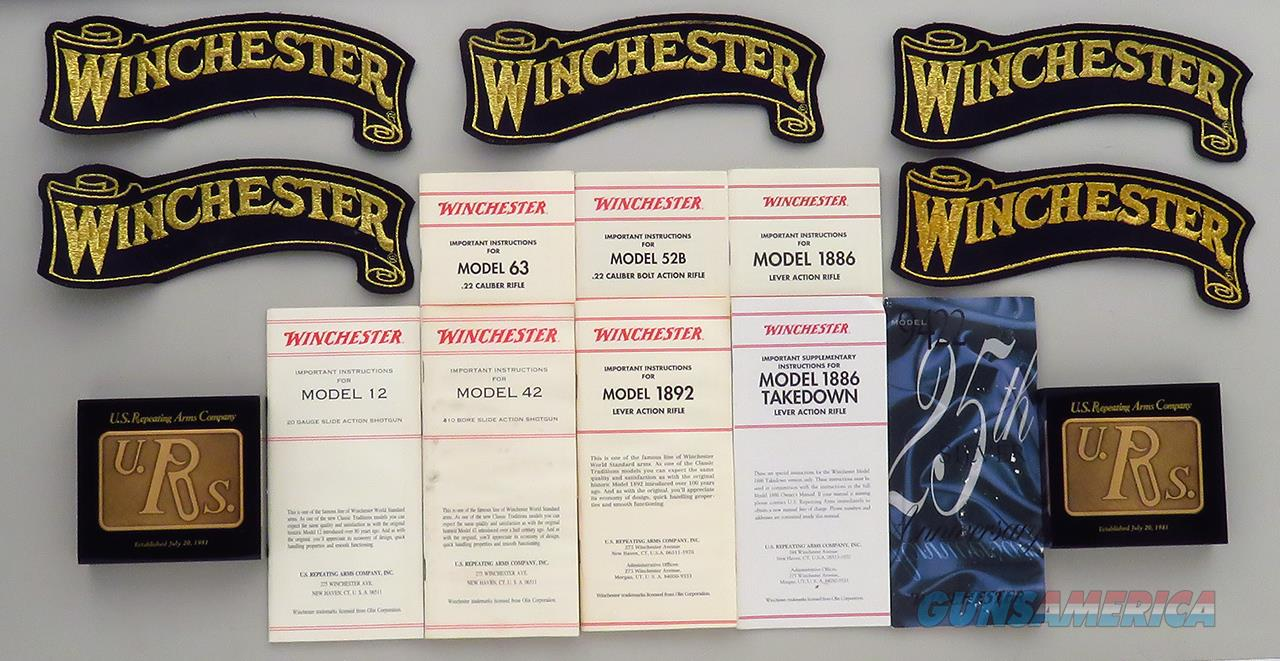Winchester logo collectibles and manuals  Non-Guns > Manuals - Print