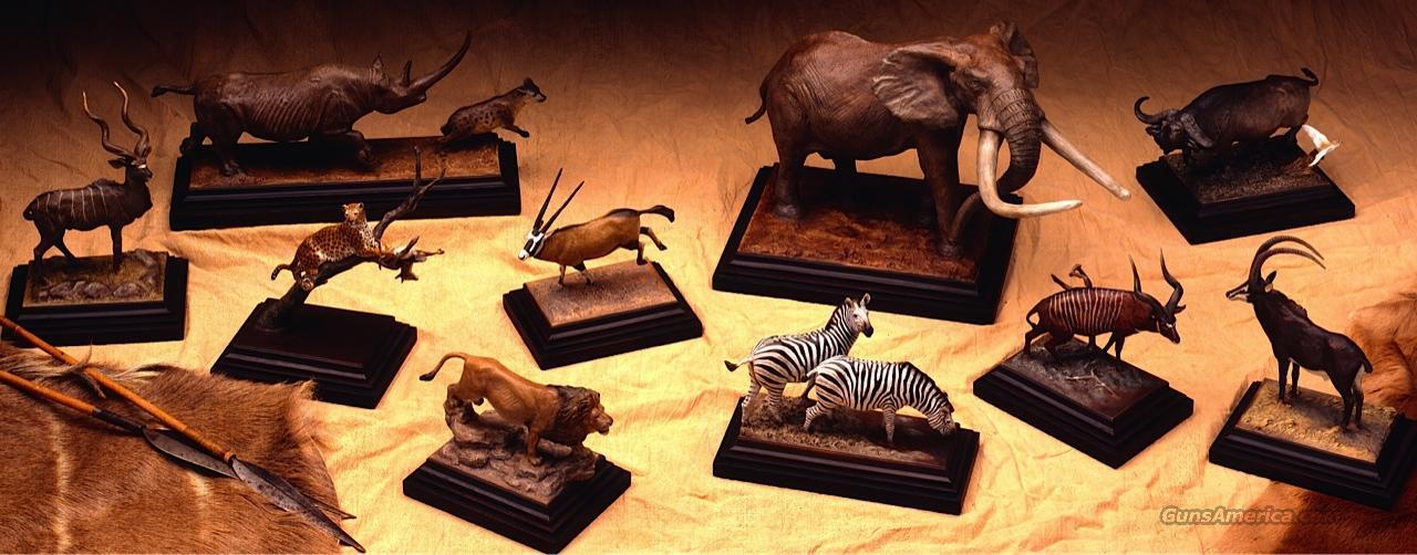 Set of 10 African world record bronzes, McGuaun  Non-Guns > Artwork