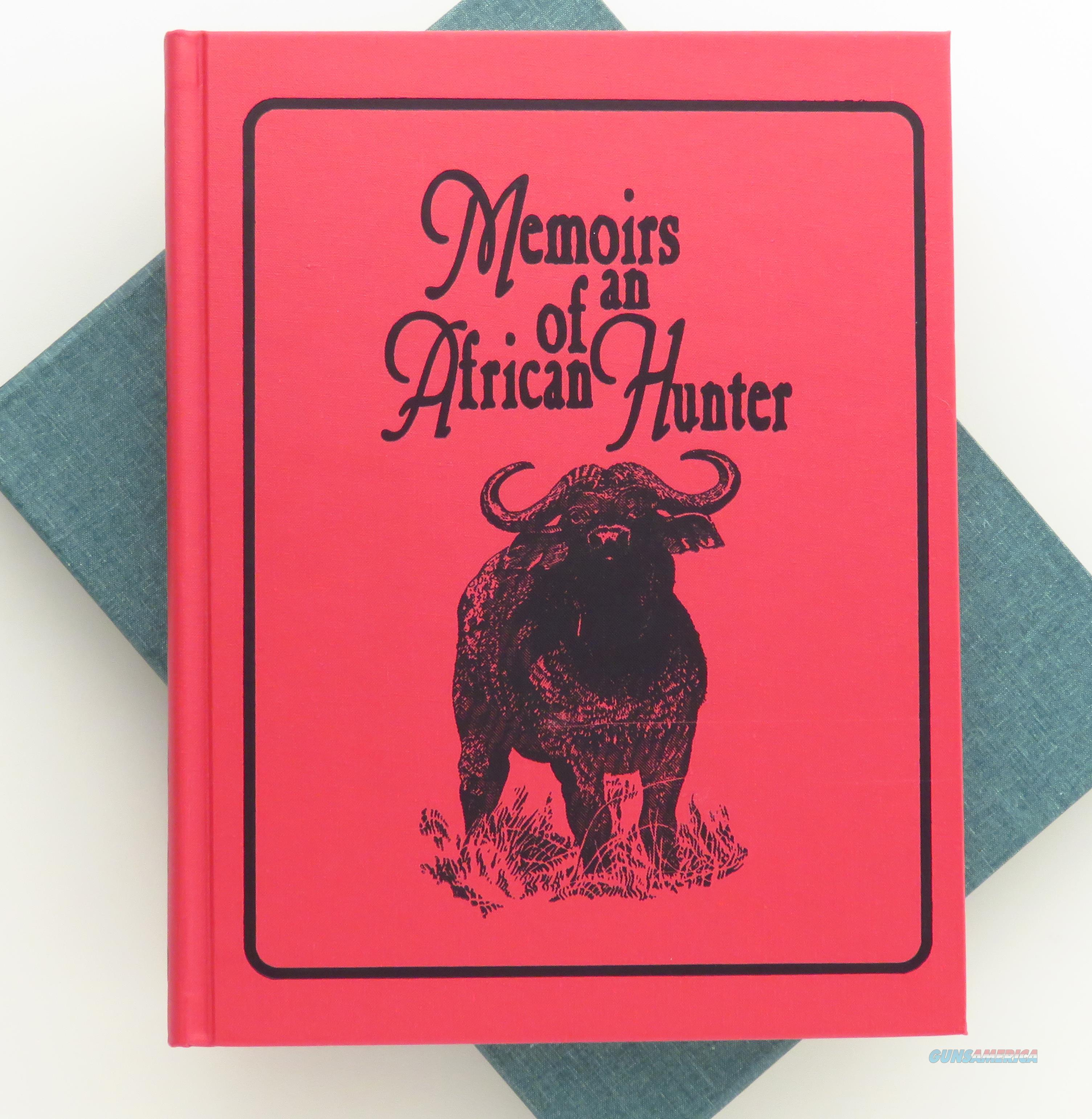 Memories of an African Hunter, Irwin, signed, limited, slip  Non-Guns > Books & Magazines