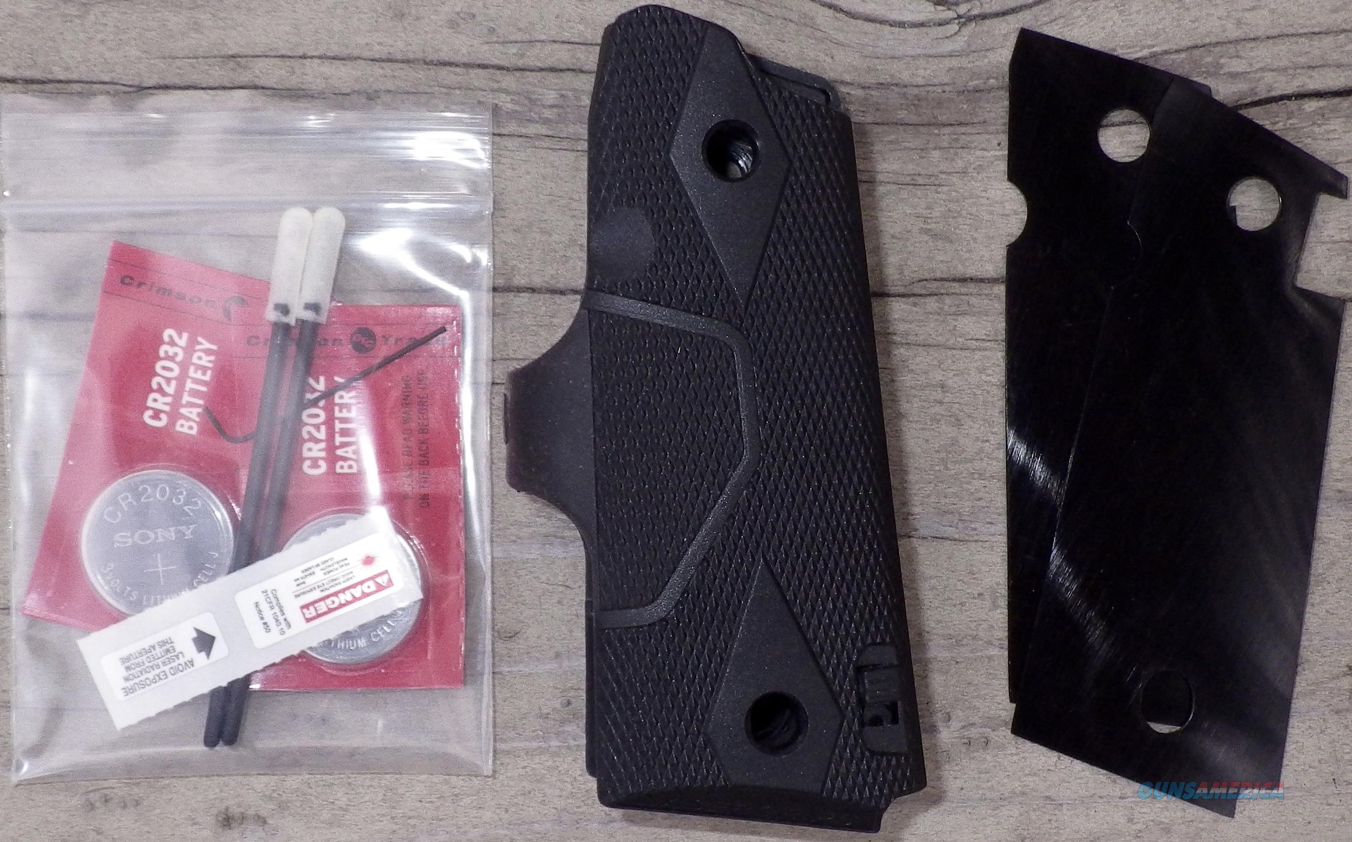 Crimson Trace Lasergrips for 1911 with compact frame  Non-Guns > Gunstocks, Grips & Wood