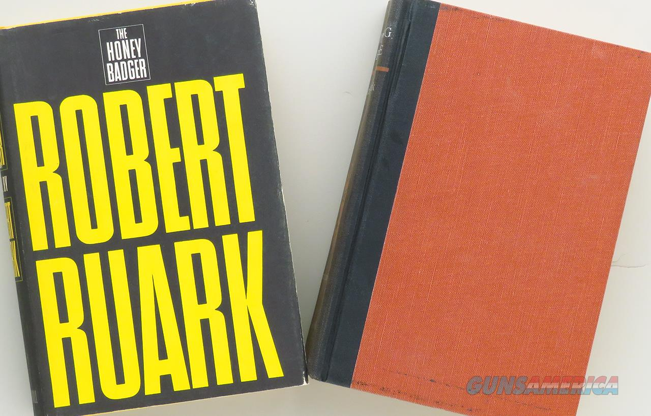 Robert Ruark pair, Something of Value & The Honey Badger  Non-Guns > Books & Magazines