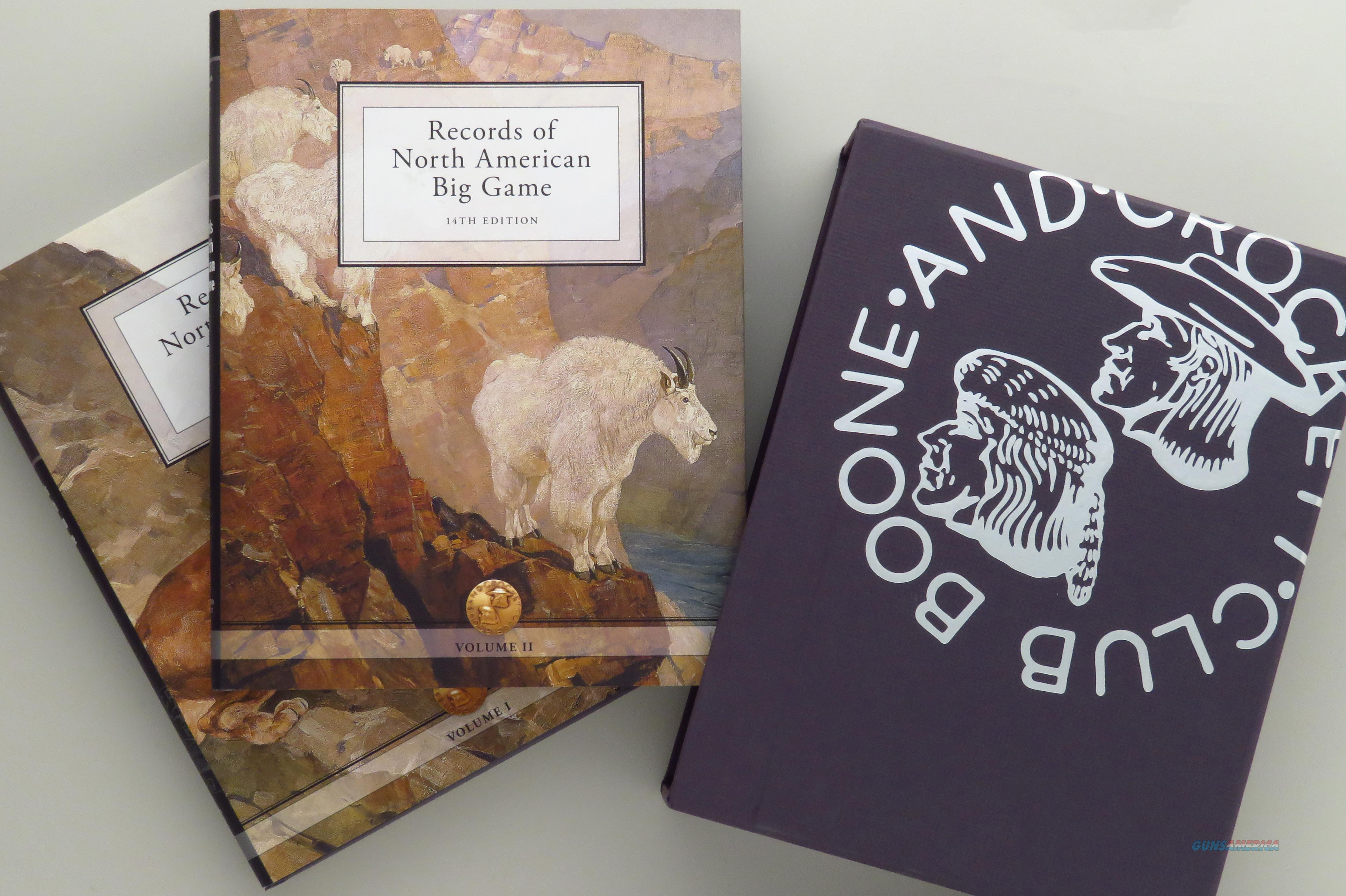 Records of North American Big Game, 14th Edition, Collector's Edition, two volumes in slip  Non-Guns > Books & Magazines