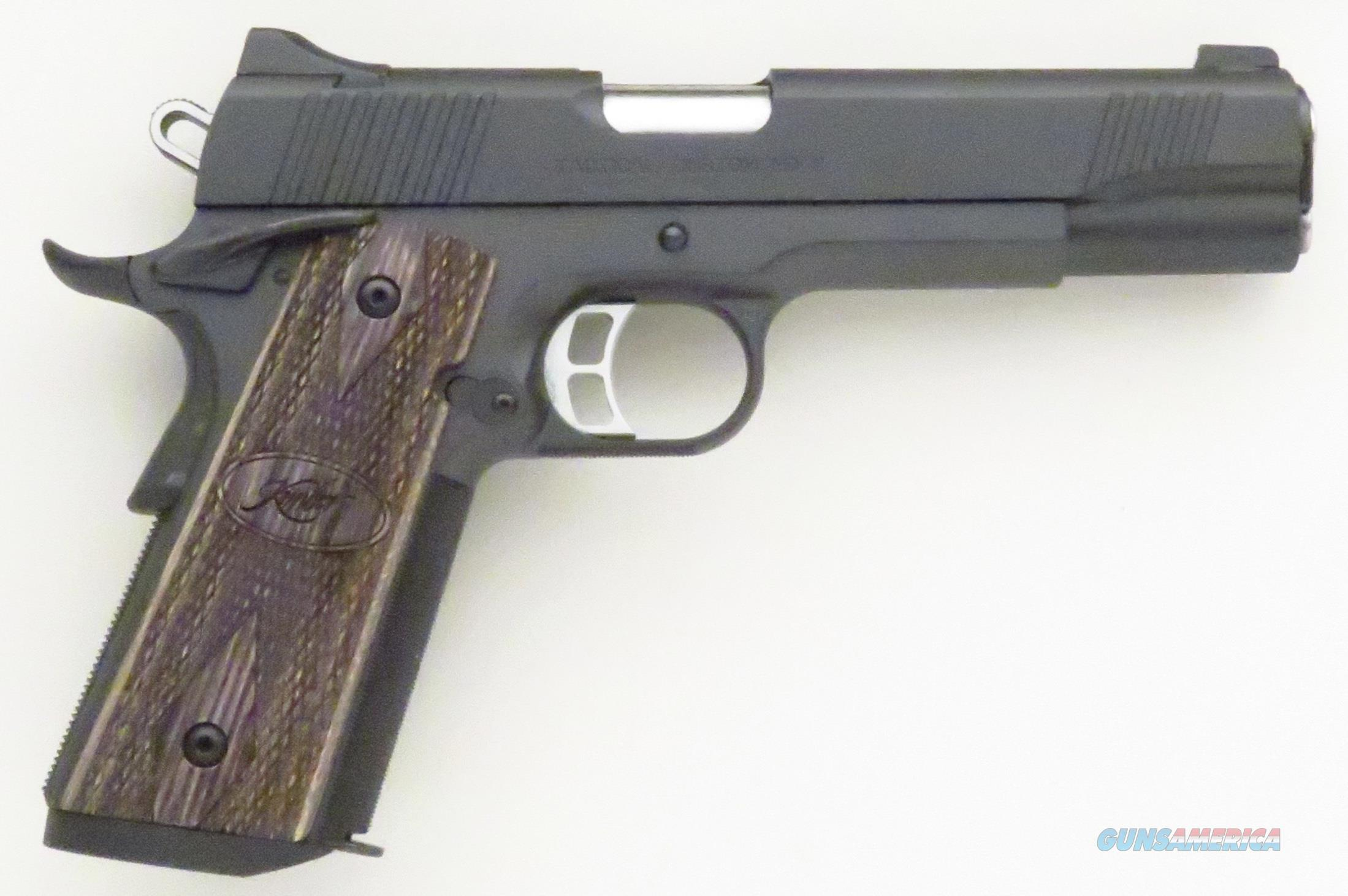 Kimber Tactical Custom HD II .45 ACP, night sights, ambi, checkering, extended mag well  Guns > Pistols > Kimber of America Pistols