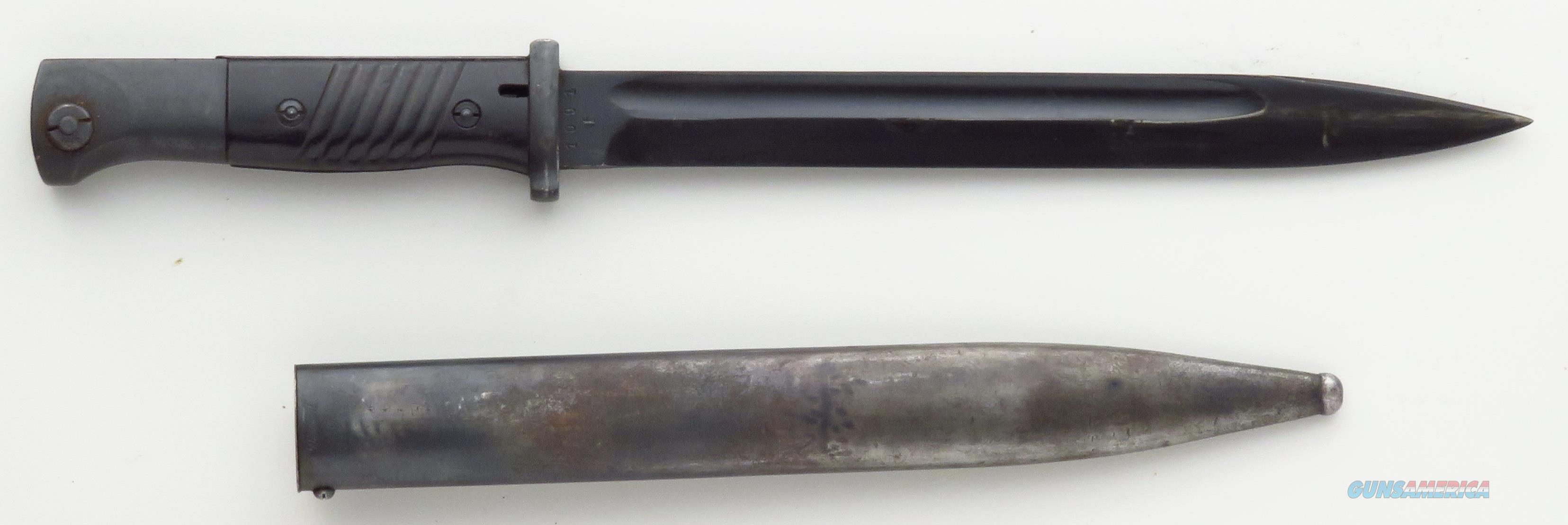 German 1884/98 bayonet, crs/40 (Weyersberg)  Non-Guns > Knives/Swords > Military > Bayonets