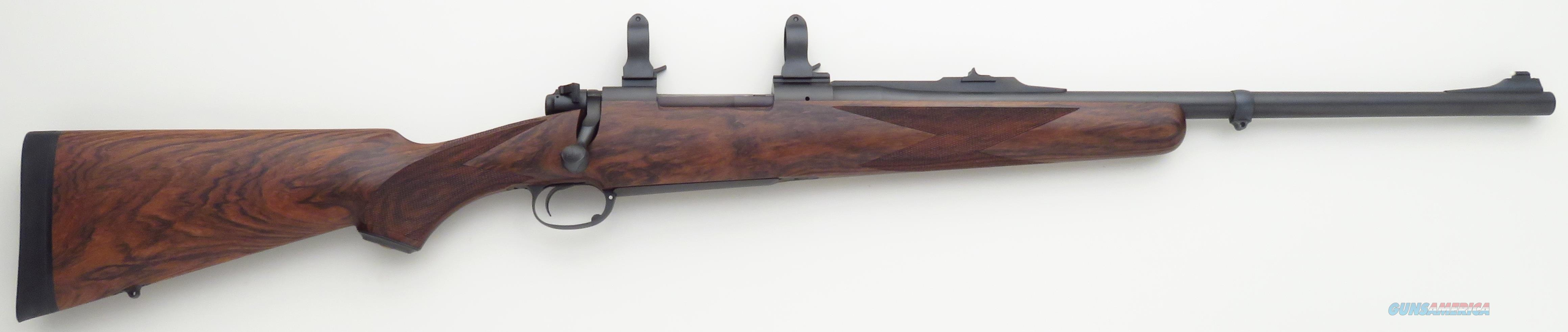 Dakota 76 Safari .375 H&H Magnum,  drop box, quarter rib, Talley, checkered bolt knob, exceptional wood  Guns > Rifles > Dakota Arms Rifles