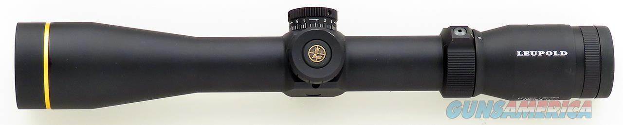 Leupold VX-R 4-12x40, FireDot Wind-plex illuminated reticle, CDS, new condition  Non-Guns > Scopes/Mounts/Rings & Optics > Rifle Scopes > Variable Focal Length