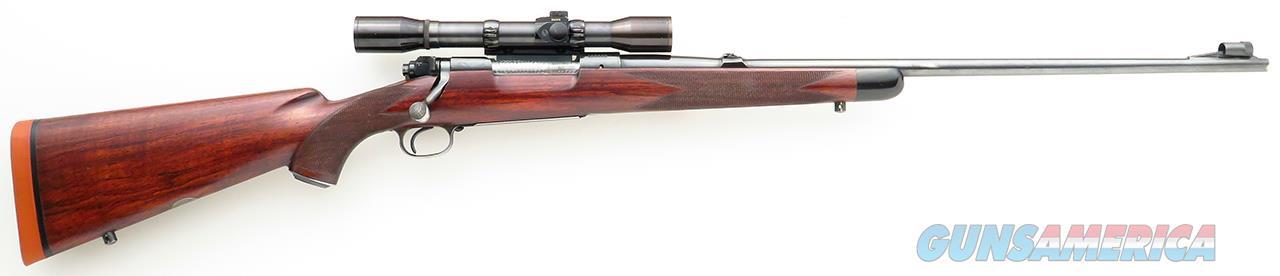 Griffin & Howe .300 H&H Mag., Model 70 magnum action, built 1950  Guns > Rifles > Winchester Rifles - Modern Bolt/Auto/Single > Model 70 > Pre-64