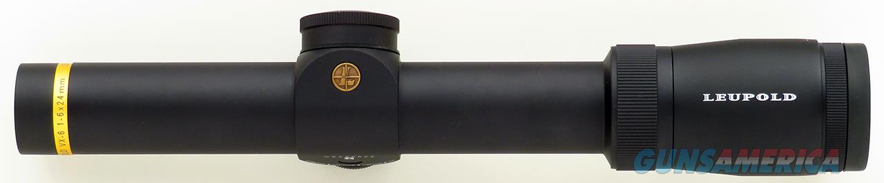 Leupold VX-6 1-6x24mm, German #4 reticle, new condition  Non-Guns > Scopes/Mounts/Rings & Optics > Rifle Scopes > Variable Focal Length