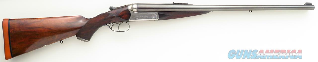 Jeffery .450 No. 2 Nitro Express double rifle, ejector, 24-inch barrels, five-leaf express,   Guns > Rifles > IJ Misc Rifles