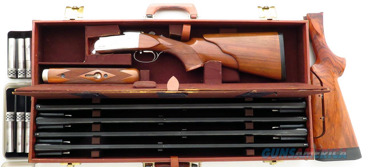 Krieghoff K-80 four barrel skeet set, Hydro-coil, Briley chokes, case, extra butt, 1984, layaway  Guns > Shotguns > Krieghoff Shotguns