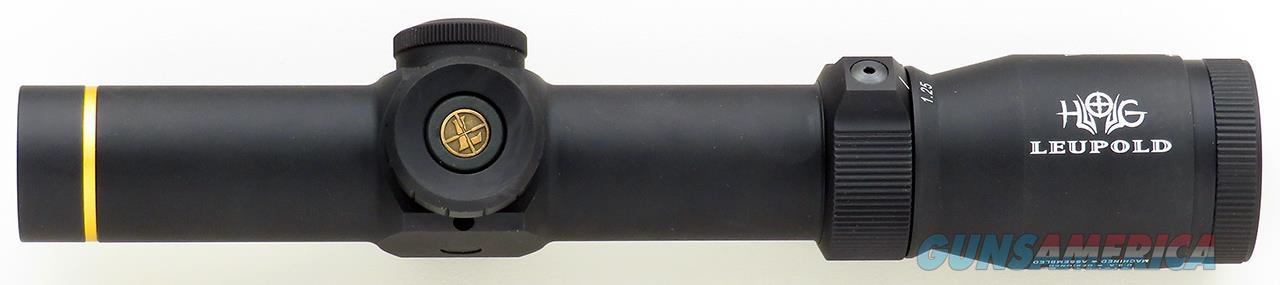 Leupold VX-R HOG 1.25-4x20mm FireDot Pig Plex illuminated reticle, new condition  Non-Guns > Scopes/Mounts/Rings & Optics > Rifle Scopes > Variable Focal Length
