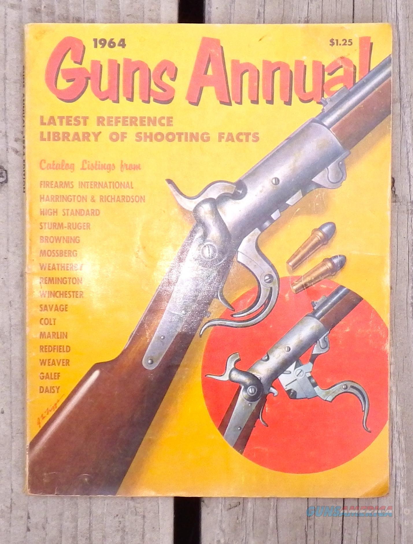 1964 Guns Annual  Non-Guns > Books & Magazines