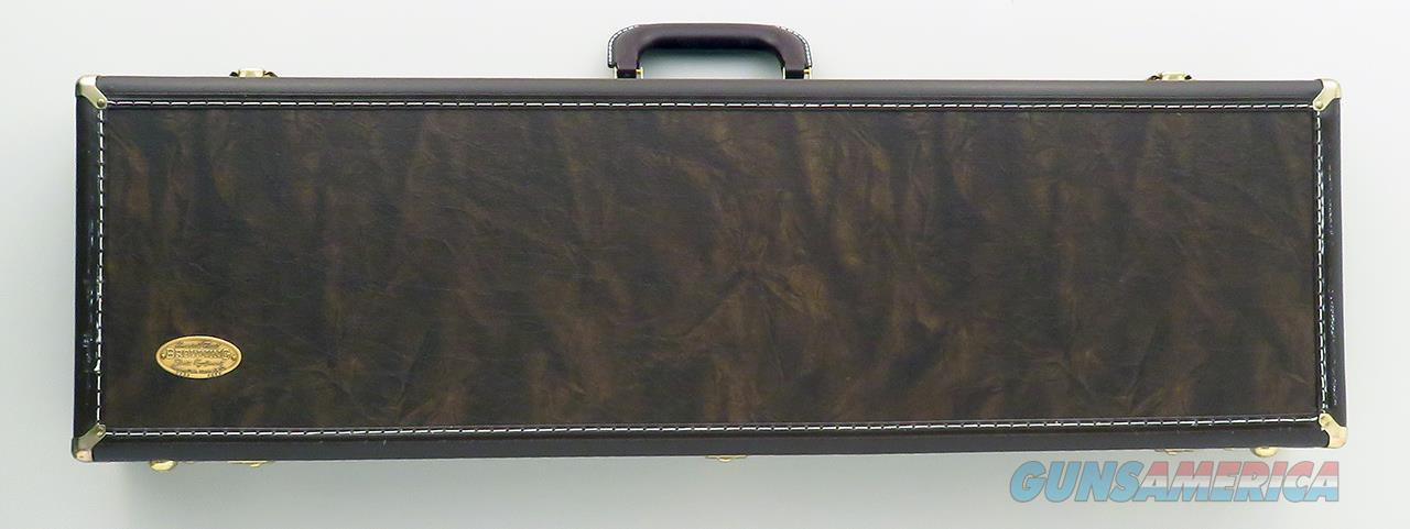 Browning Superposed / Citori takedown case, dark brown, keys, 30-inch, 99%, two available  Non-Guns > Gun Cases