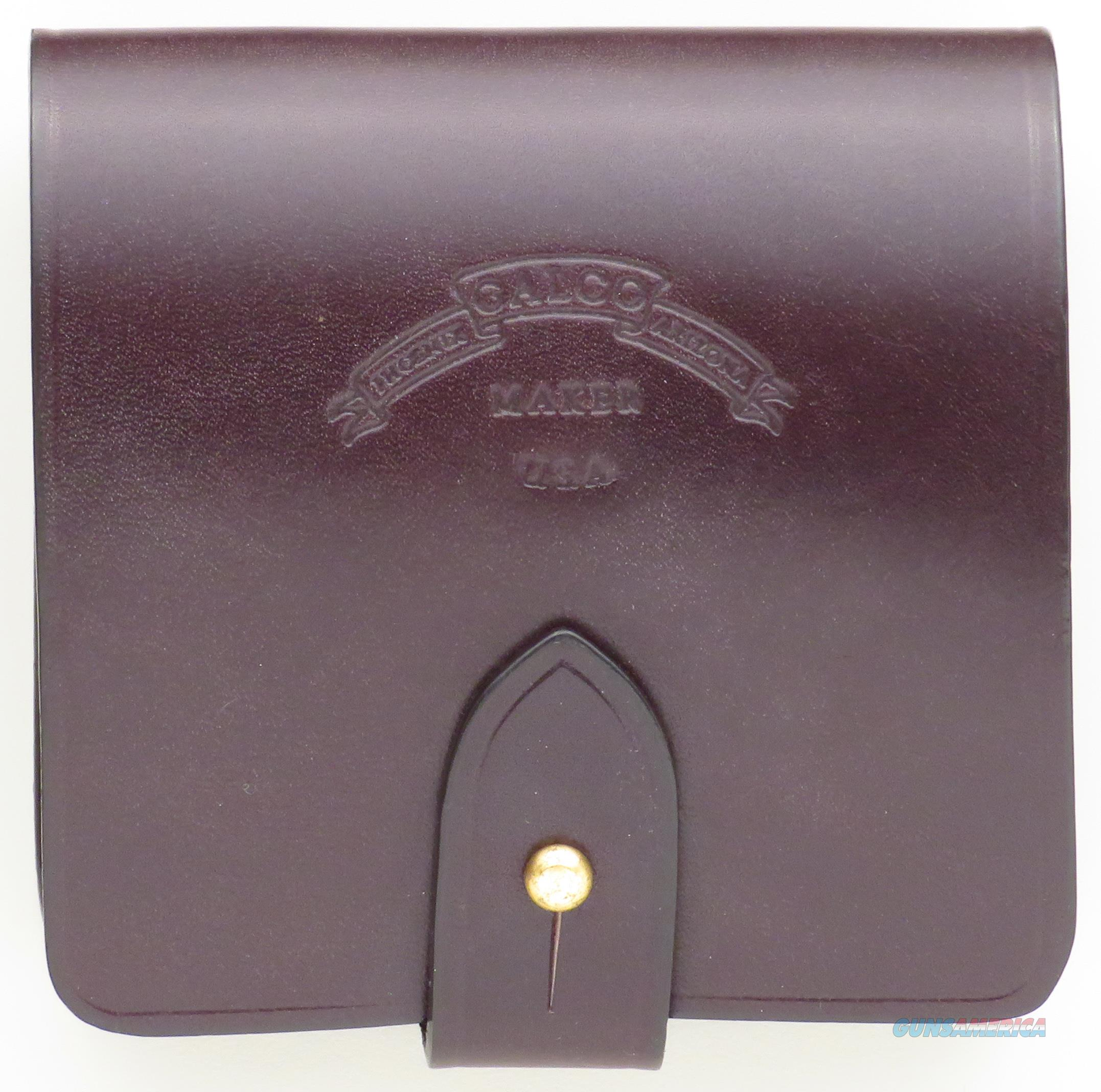 Galco Safari Five leather cartridge holder for large cartridges, new, dark brown  Non-Guns > Holsters and Gunleather > Other