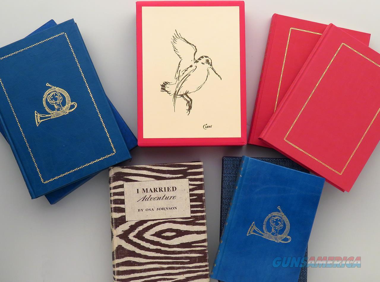 Group of five hunting titles, Barnett, Johnson, Evans, Amwell  Non-Guns > Books & Magazines