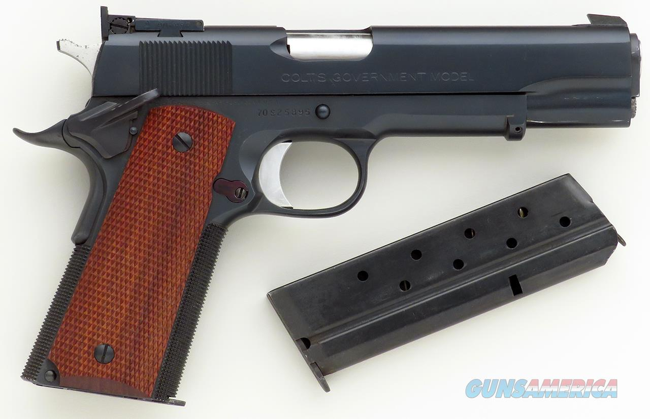 Clark Custom Combat .38 Super, Colt 1911 Series 70, adjustable, ambi, stippled, two magazines, layaway  Guns > Pistols > Colt Automatic Pistols (1911 & Var)