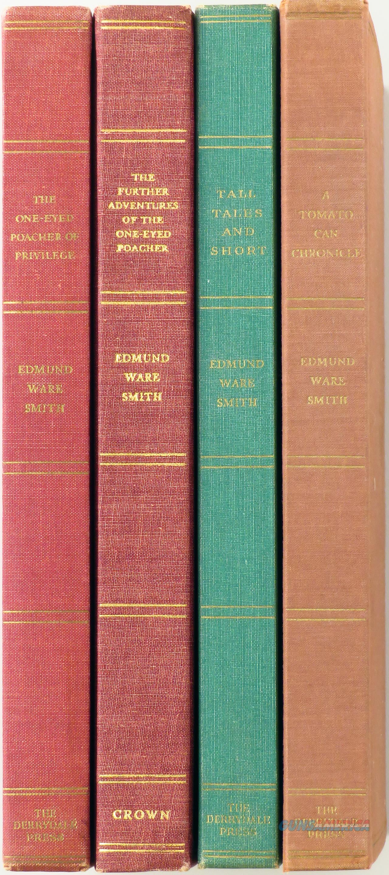 Derrydale Press, four books by Edmund Ware Smith, one signed. limited editions  Non-Guns > Books & Magazines