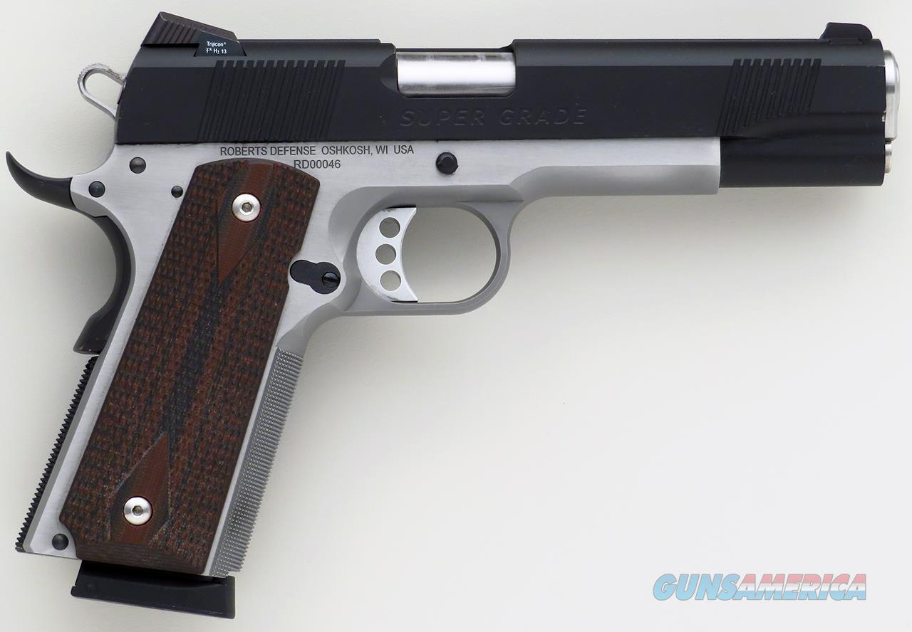 Roberts Defense Super Grade Pro .45 ACP, extremely low serial, nearly 100%  Guns > Pistols > Custom Pistols > 1911 Family