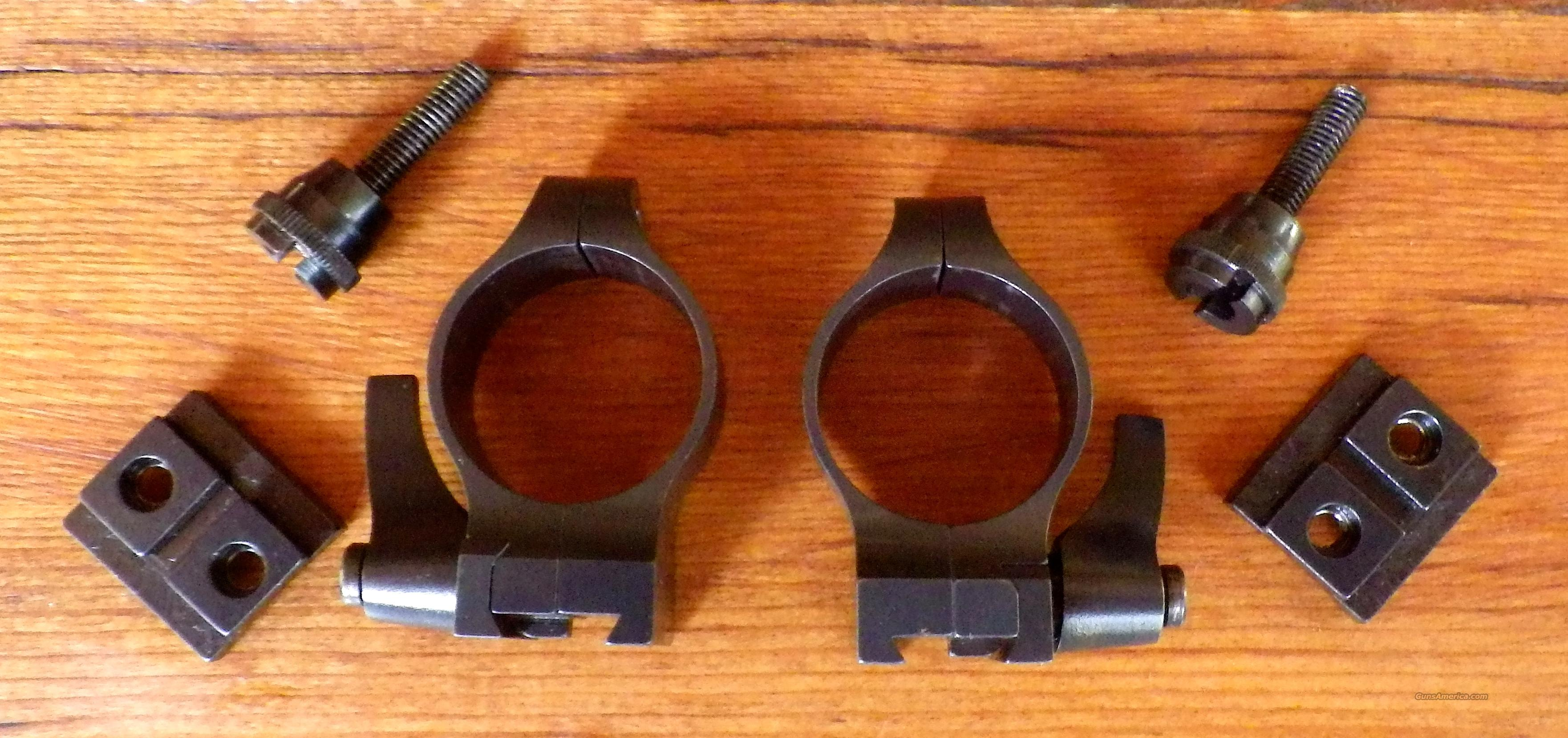 Warne 1-inch medium steel quick detachable rings  Non-Guns > Scopes/Mounts/Rings & Optics > Mounts > Other