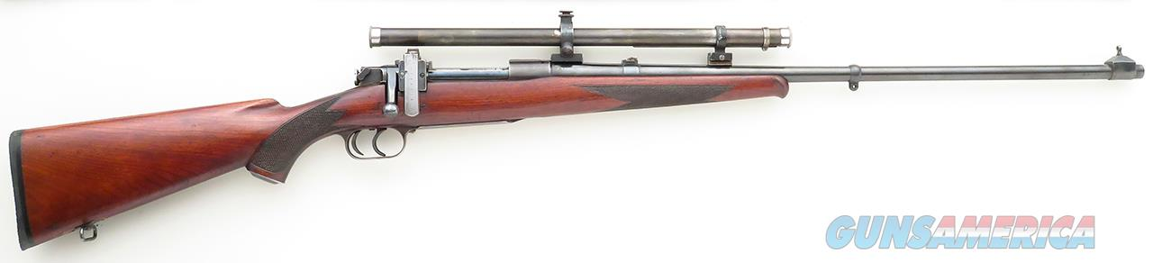 Newton (Buffalo) First Model 1916 .30-06, serial 1104, Lyman 438 field scope  Guns > Rifles > MN Misc Rifles