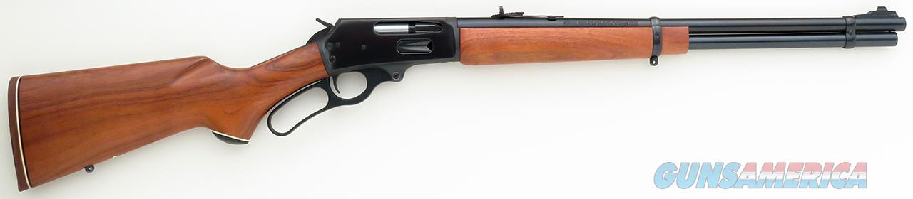 Marlin 336 CS .30-30, JM, 20-inch round, full length, folding rear sight, drilled/tapped, 98 percent  Guns > Rifles > Marlin Rifles > Modern > Lever Action