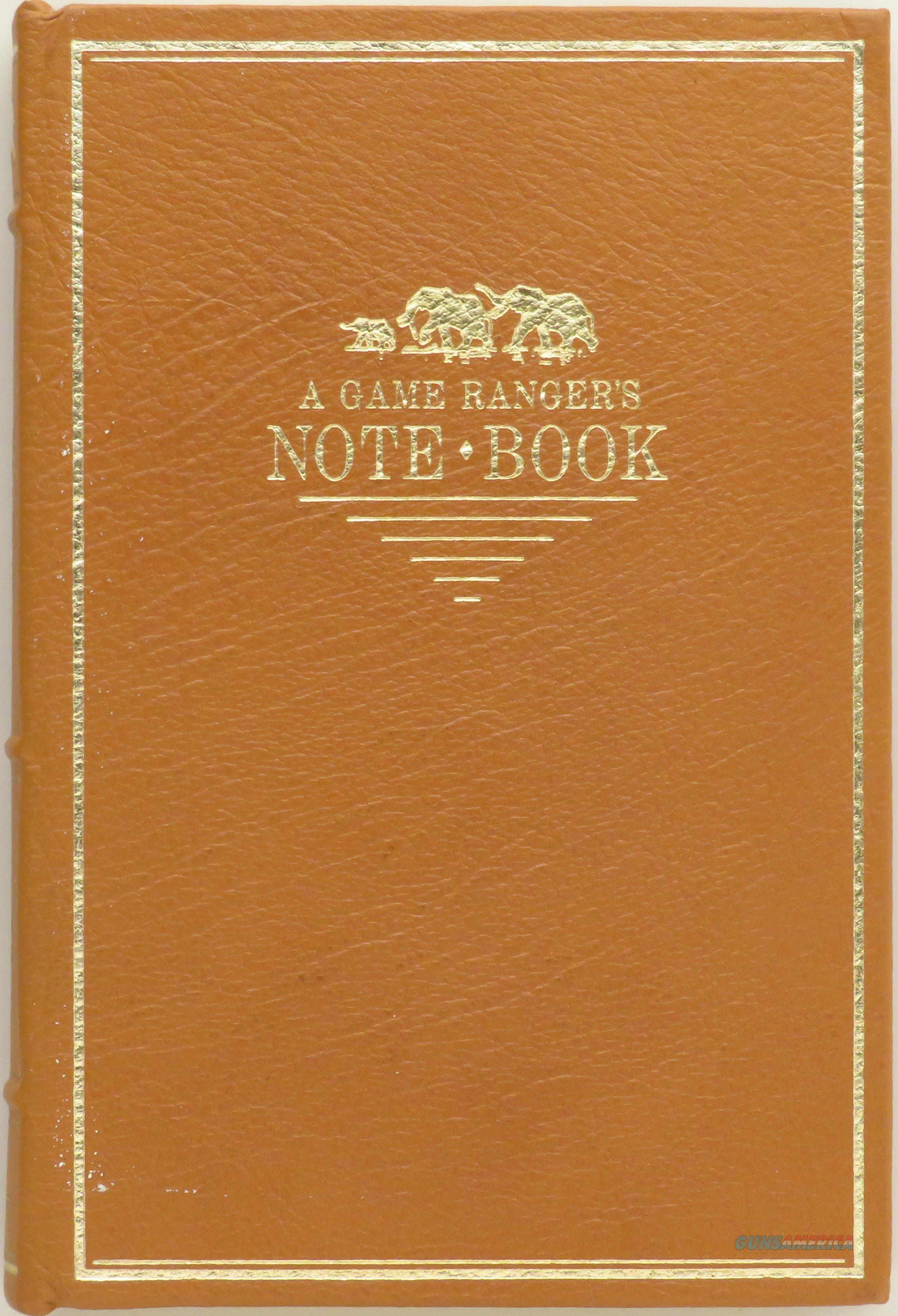 A Game Ranger's Notebook, Percival, Briar Patch, leather, ribbon, excellent  Non-Guns > Books & Magazines