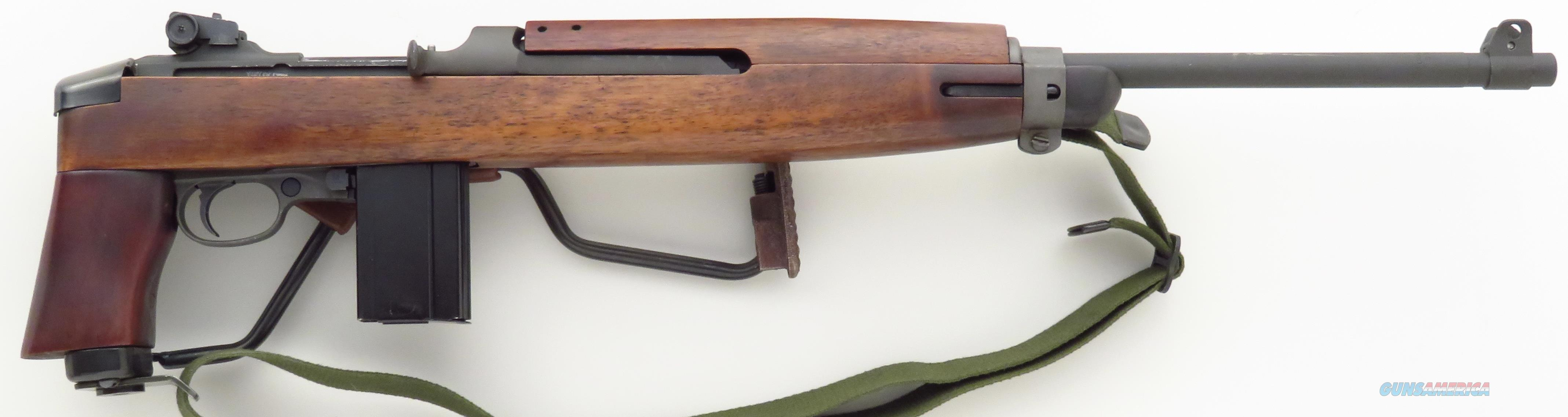 Inland Paratrooper .30 Carbine, side folder, new, serial 9000005, 18-inch barrel  Guns > Rifles > Military Misc. Rifles US > M1 Carbine