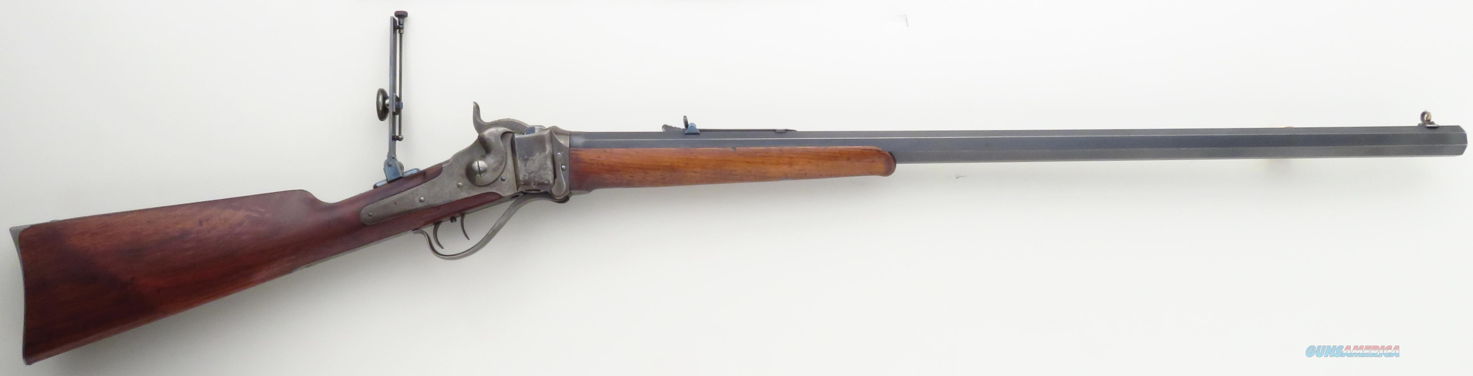 Sharps 1874 .45-110, 156222, tang sight, 1876, DST, 30-inch octagon with bright bore  Guns > Rifles > Sharps Rifles - Pre-1899