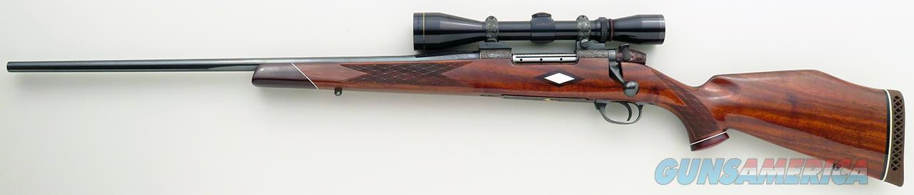 Left hand Weatherby Mark V Custom 7mm Weatherby Magnum, German, 1971, Leupold, Buehler, appears as unfired  Guns > Rifles > Custom Rifles > Bolt Action