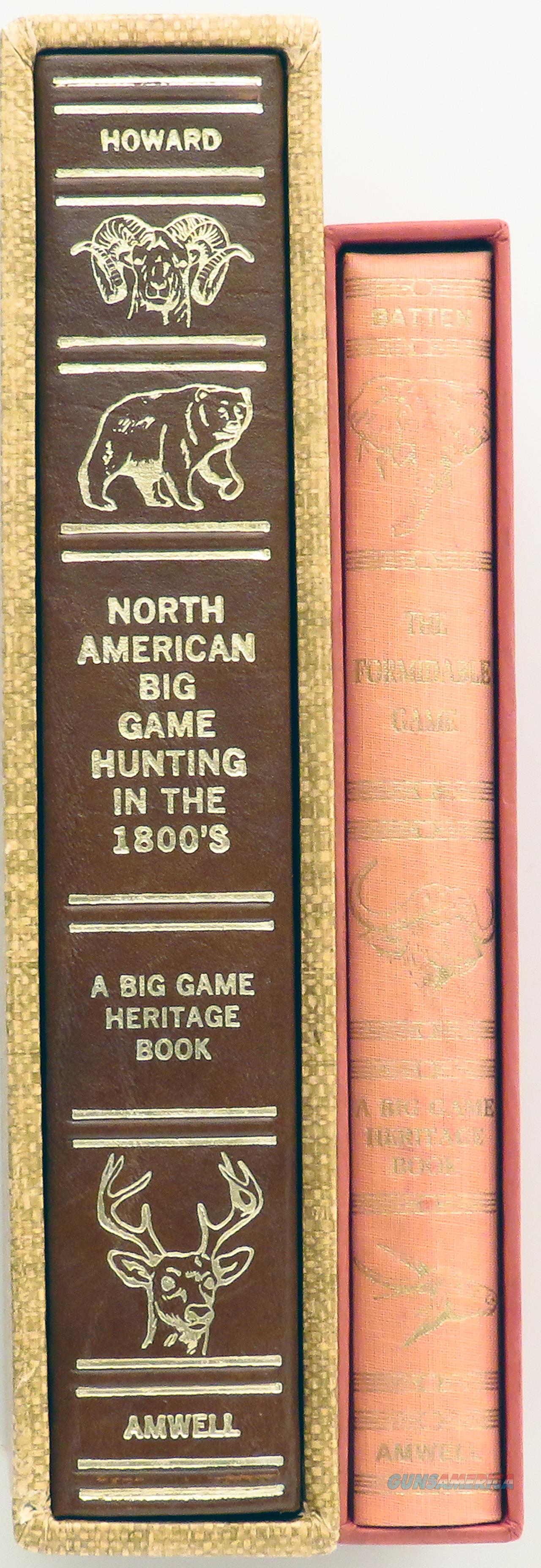 Amwell Press - two Big Game Heritage Books, Batten, Howard,   Non-Guns > Books & Magazines