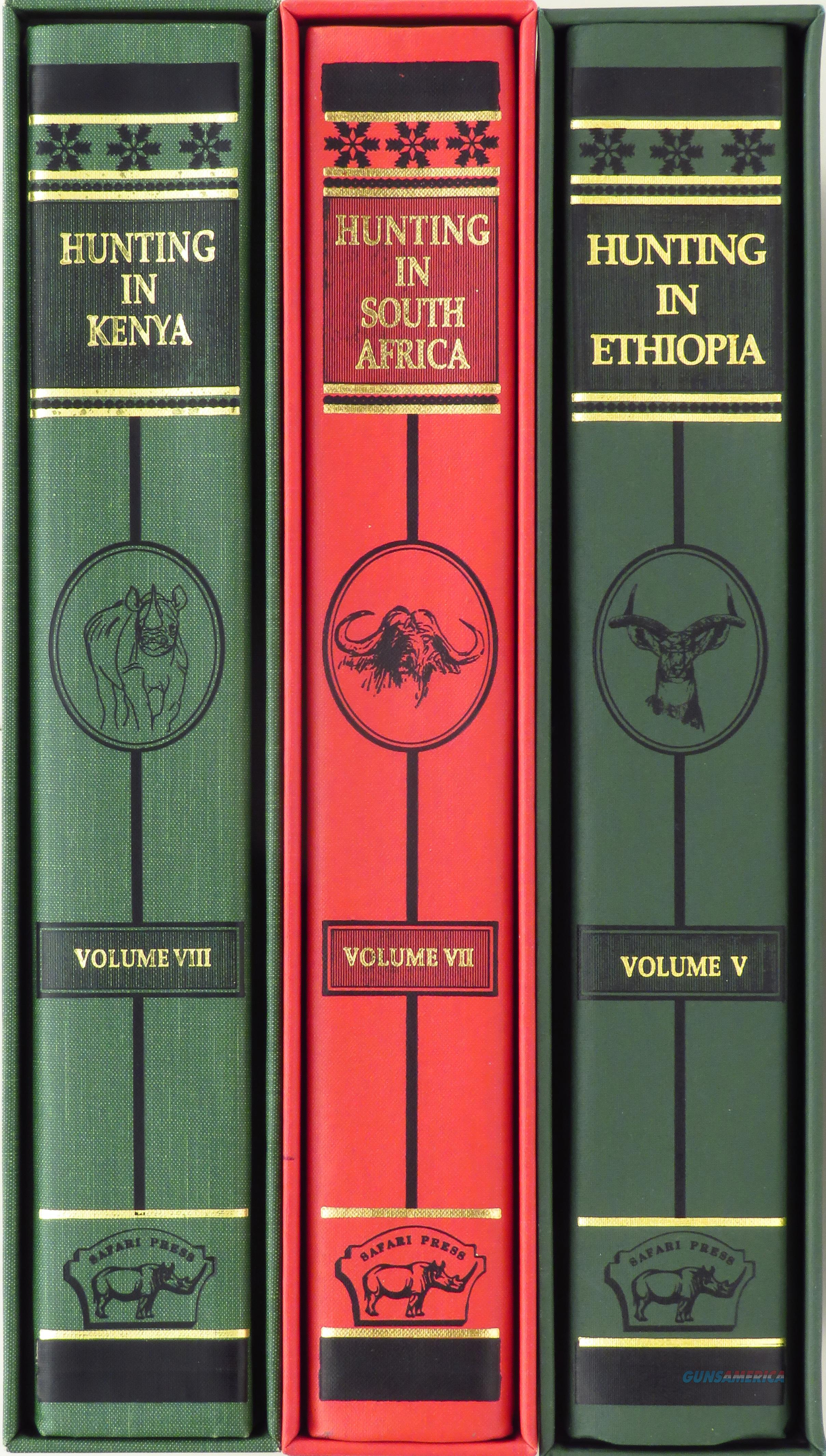 Three Safari Press African hunting anthologies from Tony Sanchez-Arino, limited, slips, Kenya, South Africa, Ethiopia  Non-Guns > Books & Magazines